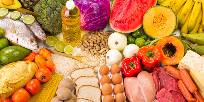 A healthy diet, A key for prolong life