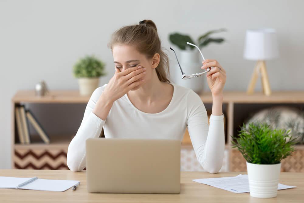 how to Treat Eye Strain